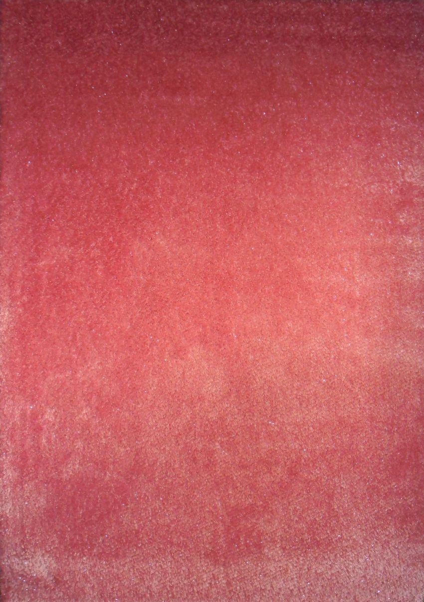 Kusový koberec AFRIGO pink 80x150cm (vysoký vlas)