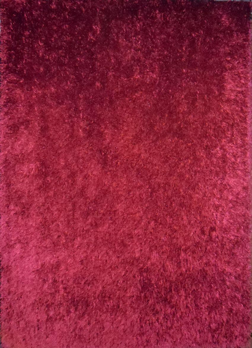 Kusový koberec LILOU framboise 80x150cm (vysoký vlas)