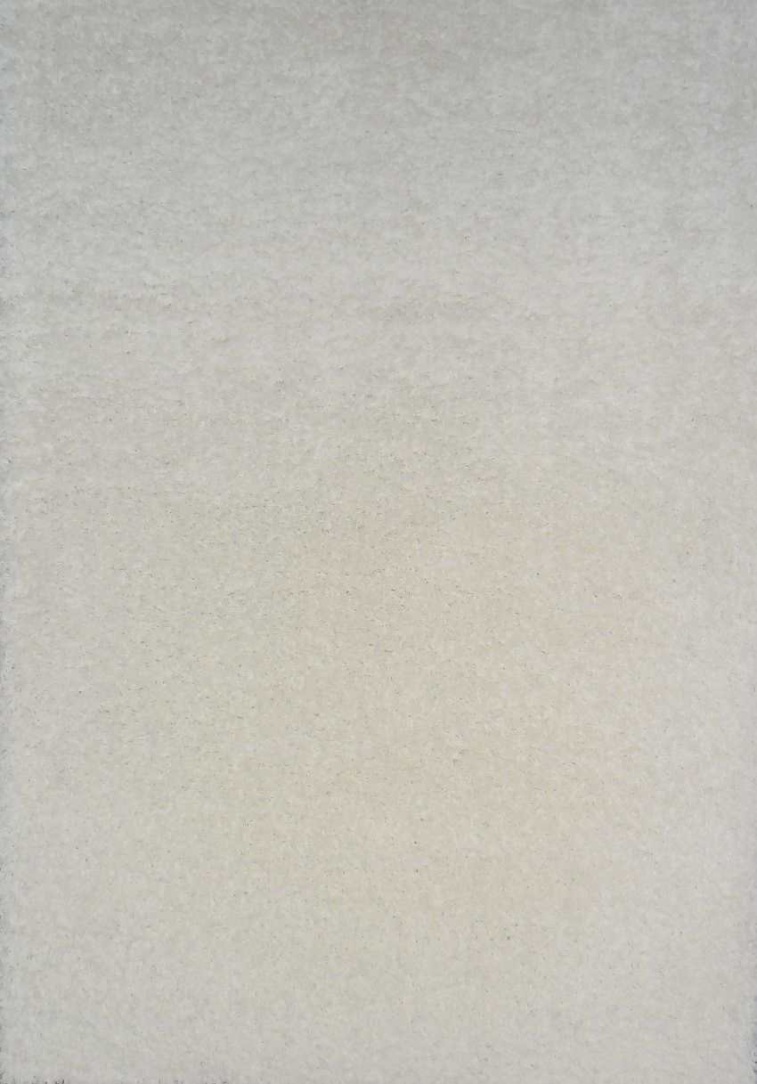 Kusový koberec SHAGGY plus 963 white 80x150cm (vysoký vlas)