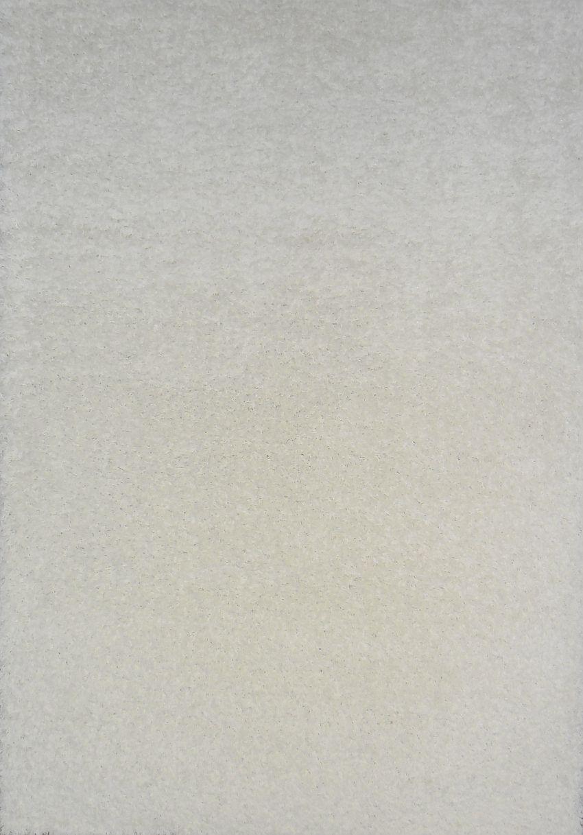 Kusový koberec SHAGGY plus 963 white 200x290cm (vysoký vlas)