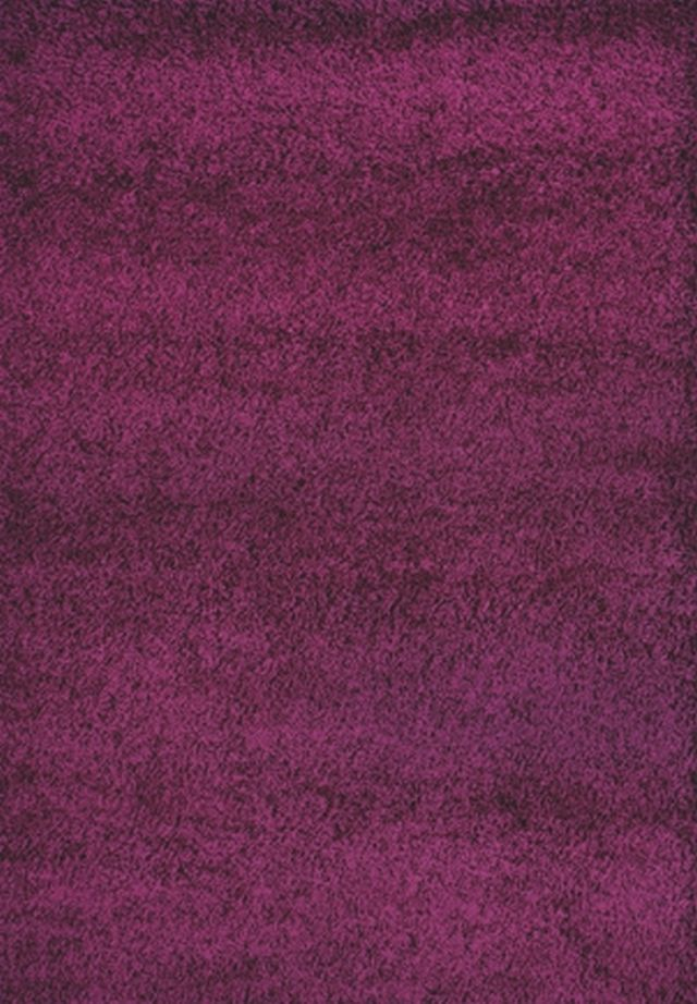 Kusový koberec SHAGGY plus 957 purple 60x115cm (vysoký vlas)