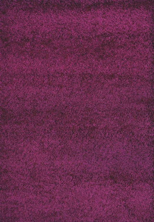 Kusový koberec SHAGGY plus 957 purple 200x290cm (vysoký vlas)