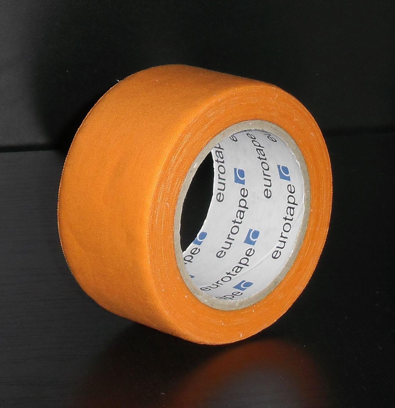 """Textilní kobercová páska """"lemovka"""" šíře 48 mm x 10 m oranžová"""