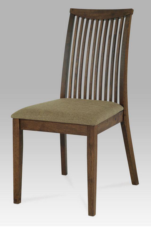 Autronic dřevěná židle ARC-7177 WAL