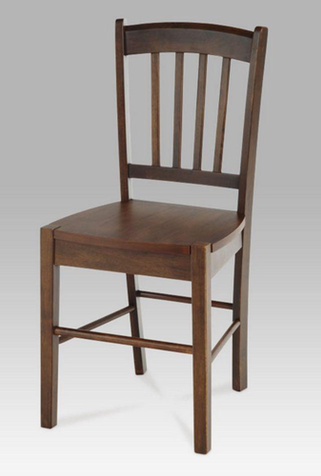 Autronic dřevěná židle AUC-005 WAL