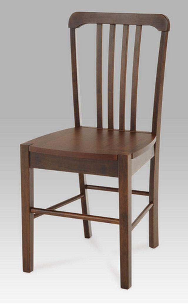 Autronic dřevěná židle AUC-006 WAL