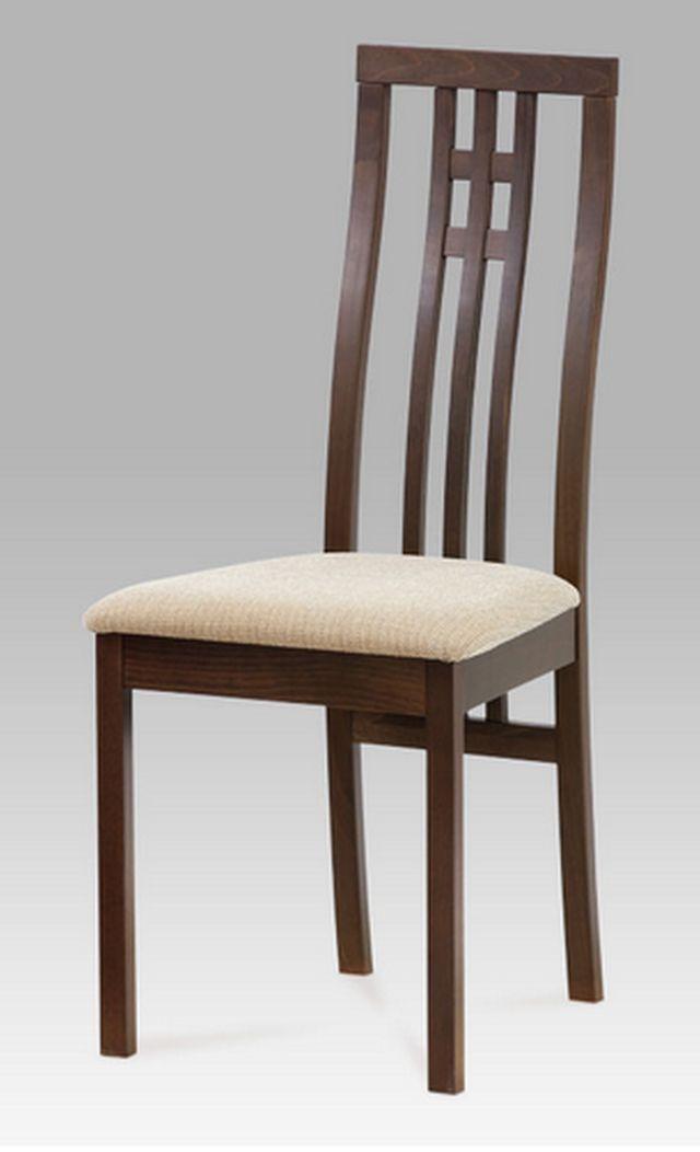 Autronic dřevěná židle BC-2482 WAL