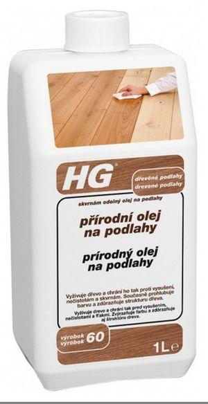 HG přírodní olej na podlahy 1 l (HG 60)