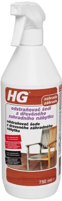 HG odstraňovač šedi z dřevěného zahradního nábytku 750 ml