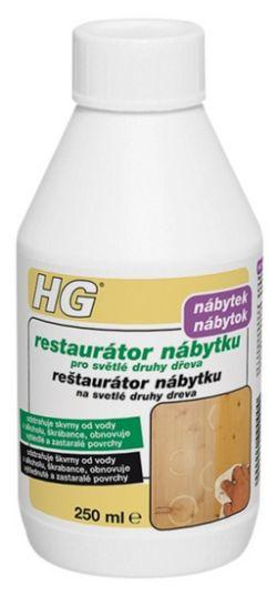 HG restaurátor nábytku pro světlé druhy dřeva 250 ml