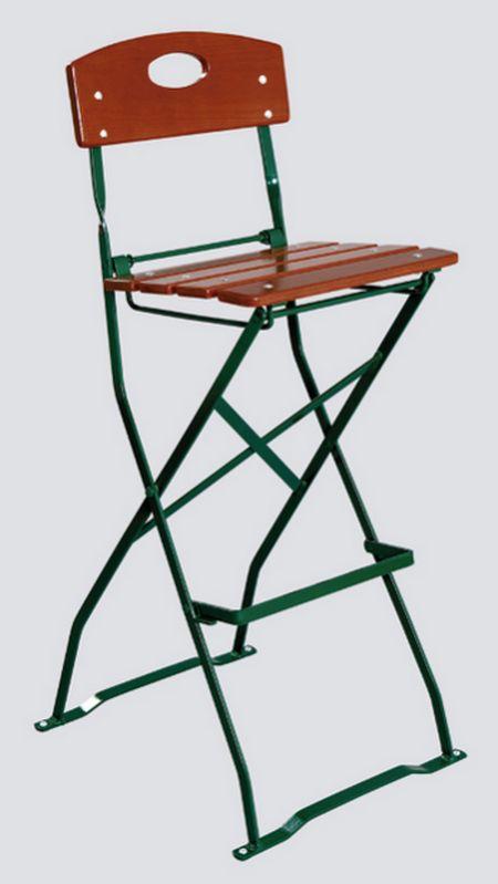 Zahradní židle Rio jasan, skládací (barová skládací židle)