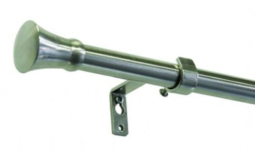Gardinia Vancouver Konus 16/19mm 120-210cm kov ušlechtilá ocel (roztažitelná záclonová tyč)