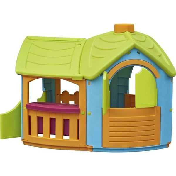 Dětský domeček Marian Plast TRIANGLE - 2 místnosti