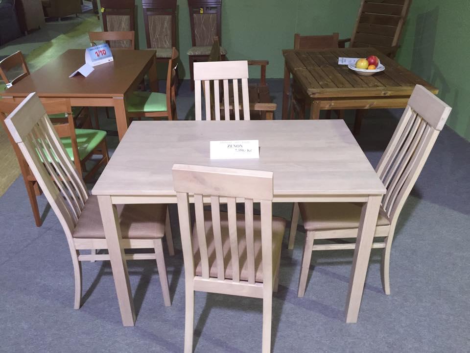 jídelní stůl S01 + 4 židle DUNGA