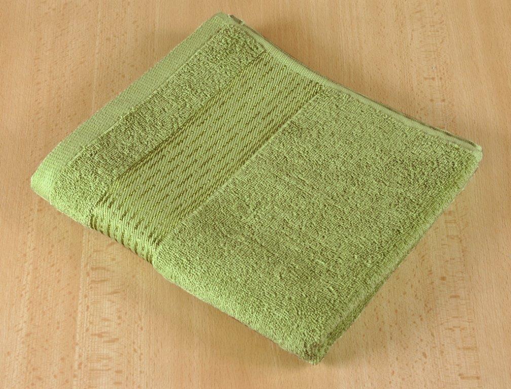 Froté ručník 50x100cm 450g olivová