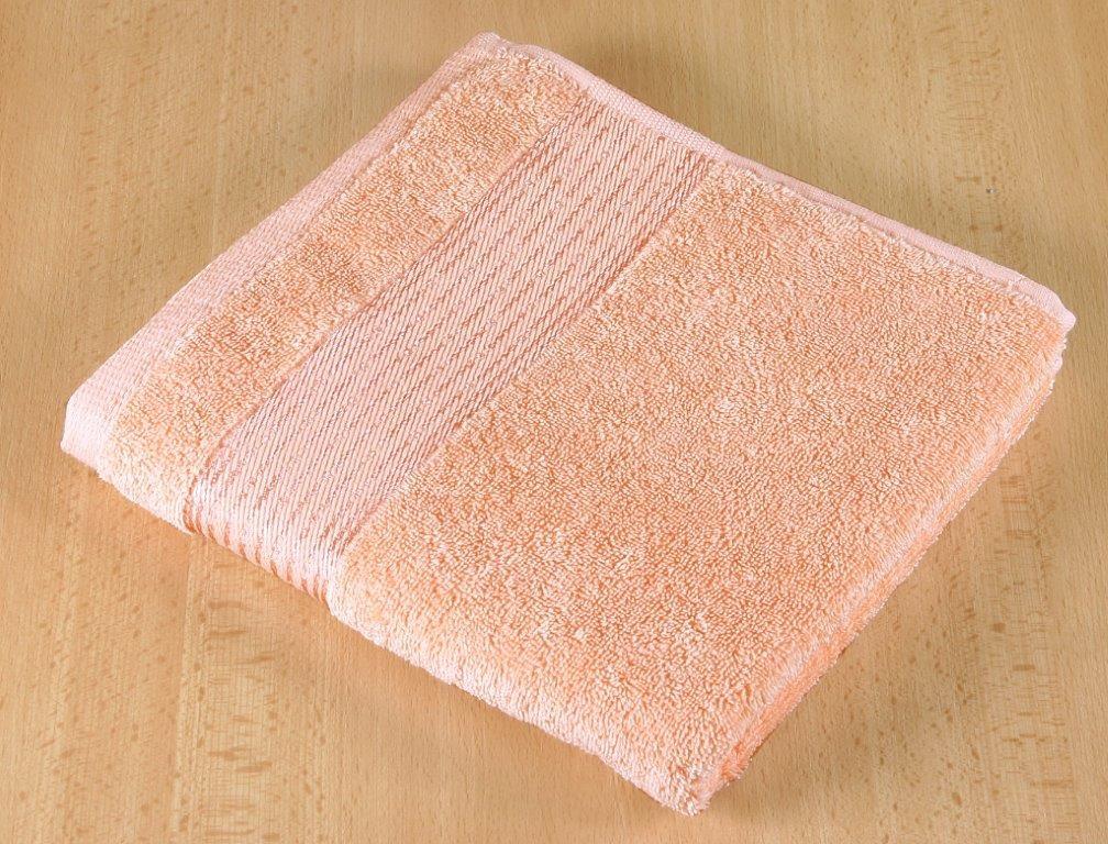 Froté ručník 50x100cm 450g lososová