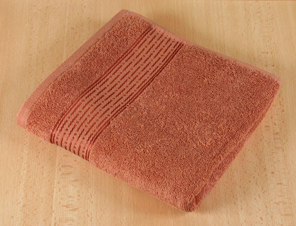 Froté ručník 50x100cm 450g terra