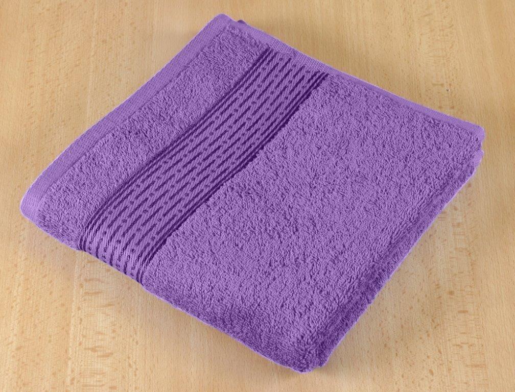 Froté ručník 50x100cm 450g fialová