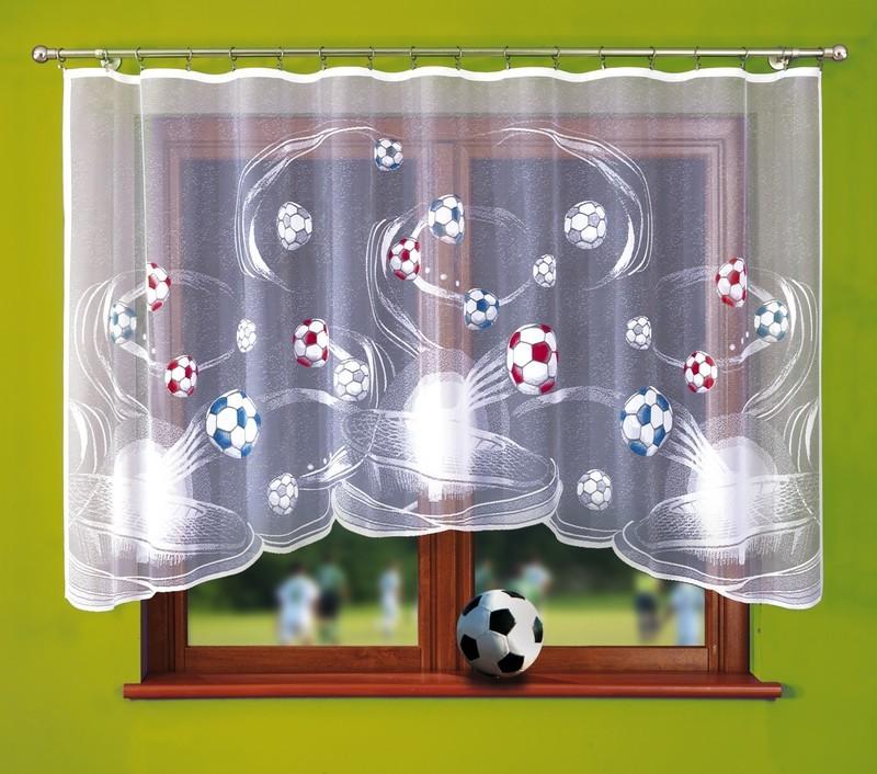 Fotbalová záclona Viktor 300x150cm