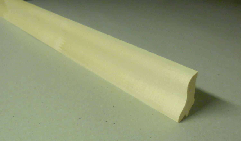 Spálenský dřevěná podlahová lišta P 4020/240cm smrk 40x20x2400mm
