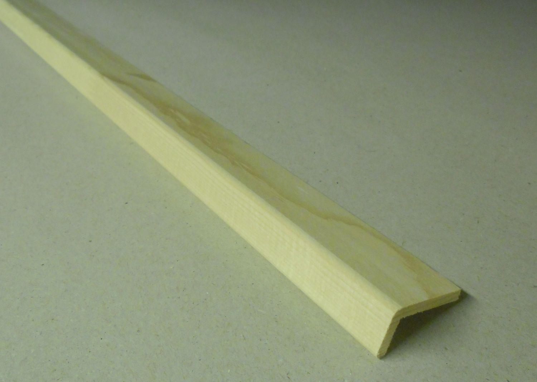 Spálenský dřevěná rohová lišta L 14320/240cm smrk 14x30x2400mm (ochranný roh)