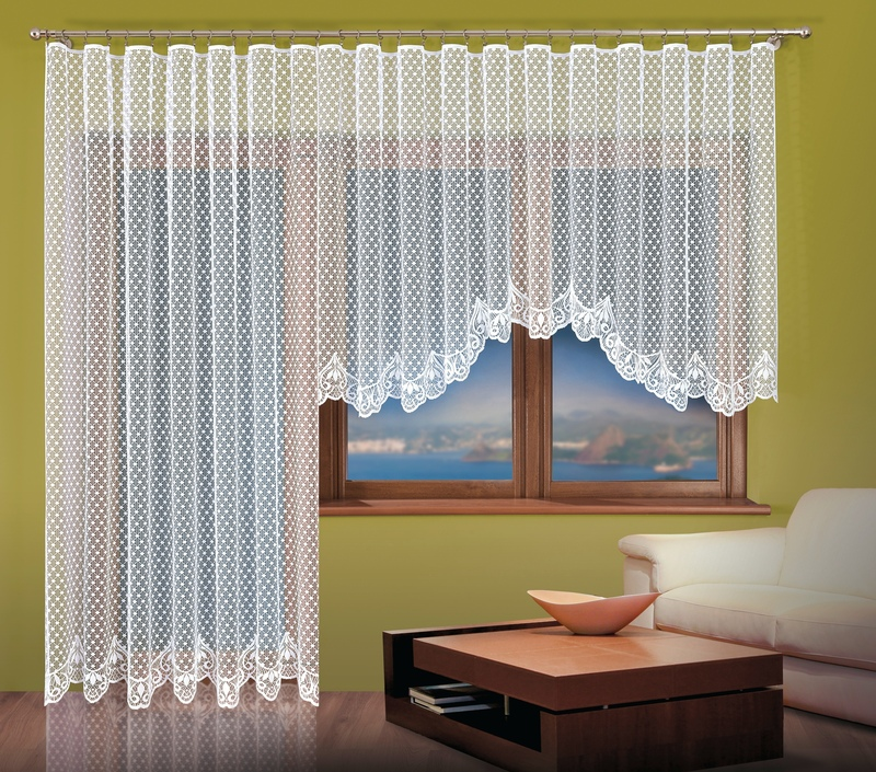 Hotová záclona nebo Balkonový komplet Sandra 400x160cm