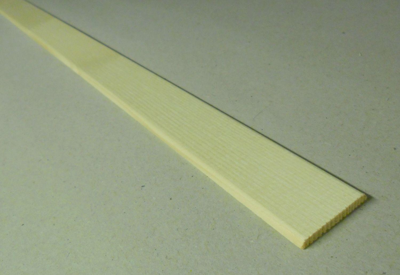 Spálenský dřevěná krycí lišta K 3404/240cm smrk 34x4x2400mm