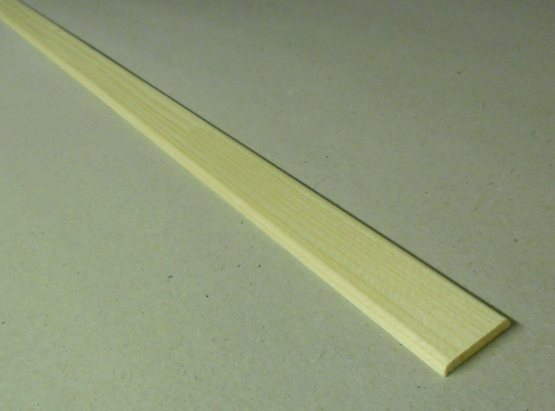 Spálenský dřevěná krycí lišta K 2504/240cm smrk 25x4x2400mm