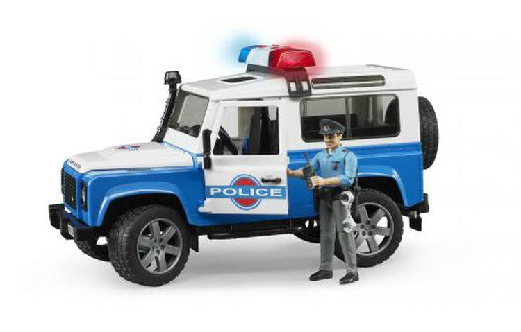 Bruder 2595 Land Rover Defender Policie s policistou