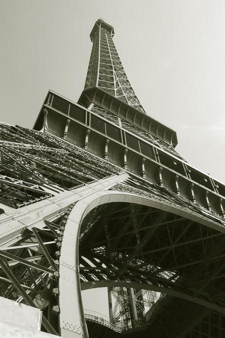 Obraz tisk na plátně - Eiffelova věž