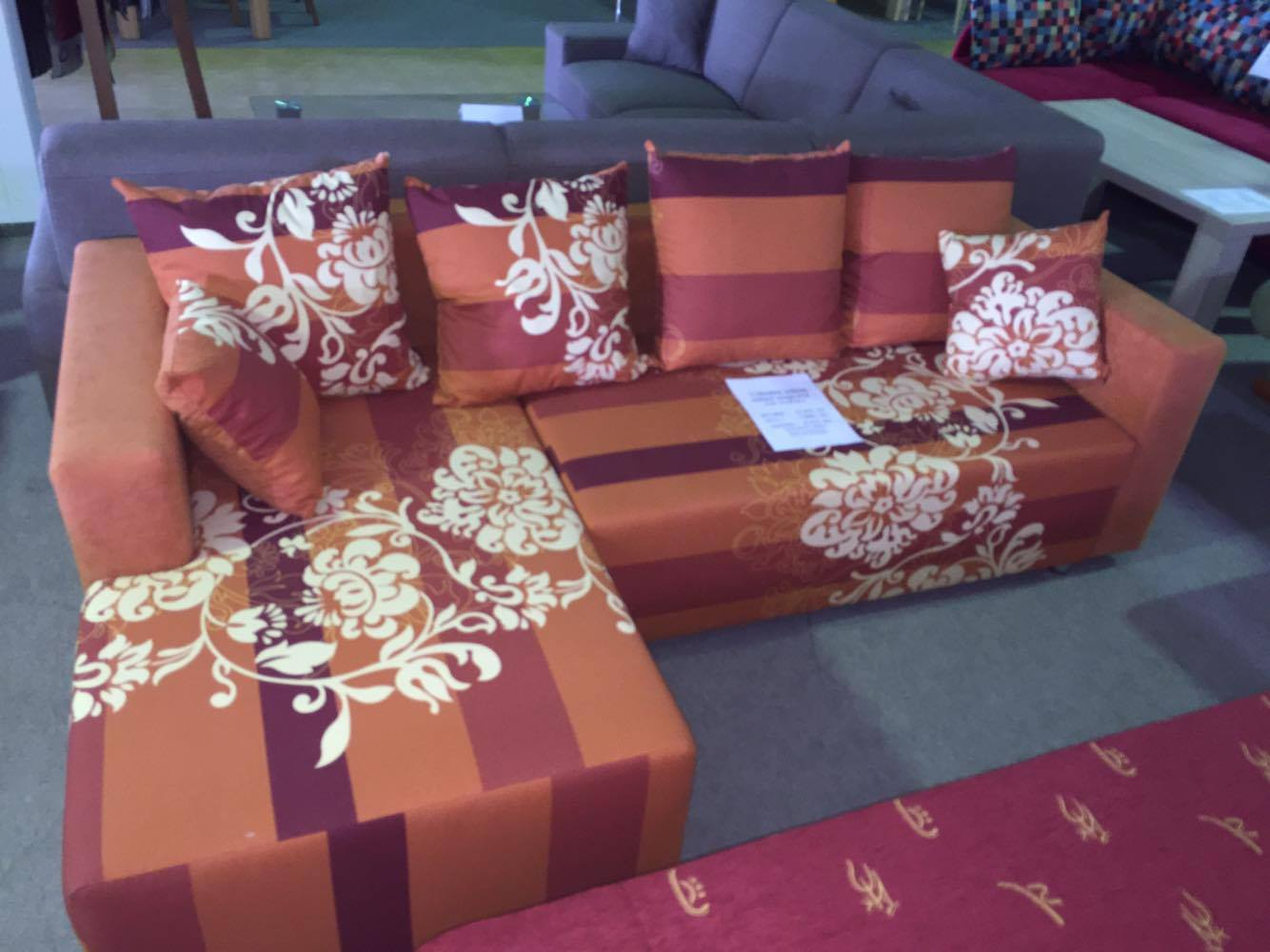BRADOP sedací souprava A70 NAPOLI oranžová