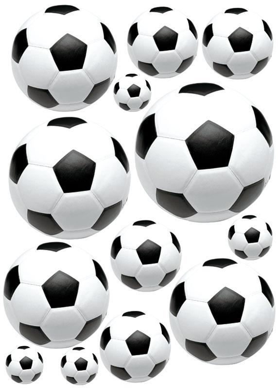 Dimex ST1 005 Samolepicí dekorace na zeď Soccer ball, 50x70 cm (fotbalový míč)
