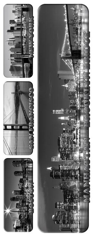 Dimex ST2 010 Samolepicí dekorace na zeď City Skylines, 65x165 cm (městské panorama)
