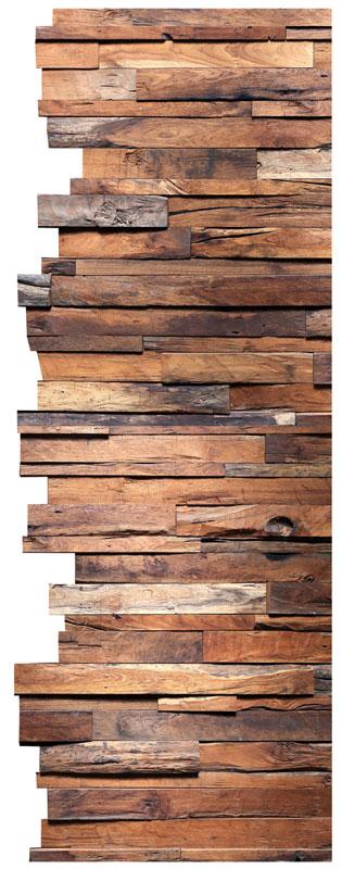 Dimex ST2 015 Samolepicí dekorace na zeď Wood, 65x165 cm (dřevo)