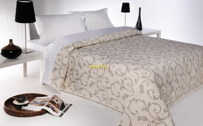 přehoz na postel LIS béžová 140x220cm