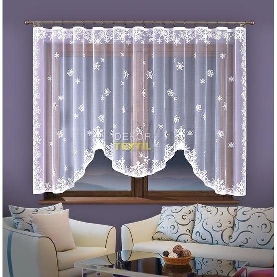 Hotová záclona, Winter, 320 x 150 cm