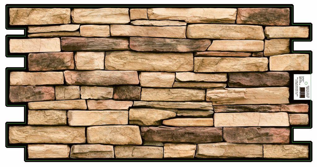 3D GRACE omyvatelný obkladový nástěnný panel PVC 498x980mm břidlice přírodní