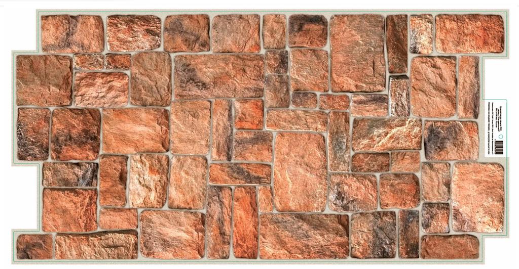 3D GRACE omyvatelný obkladový nástěnný panel PVC 498x980mm kámen přírodní