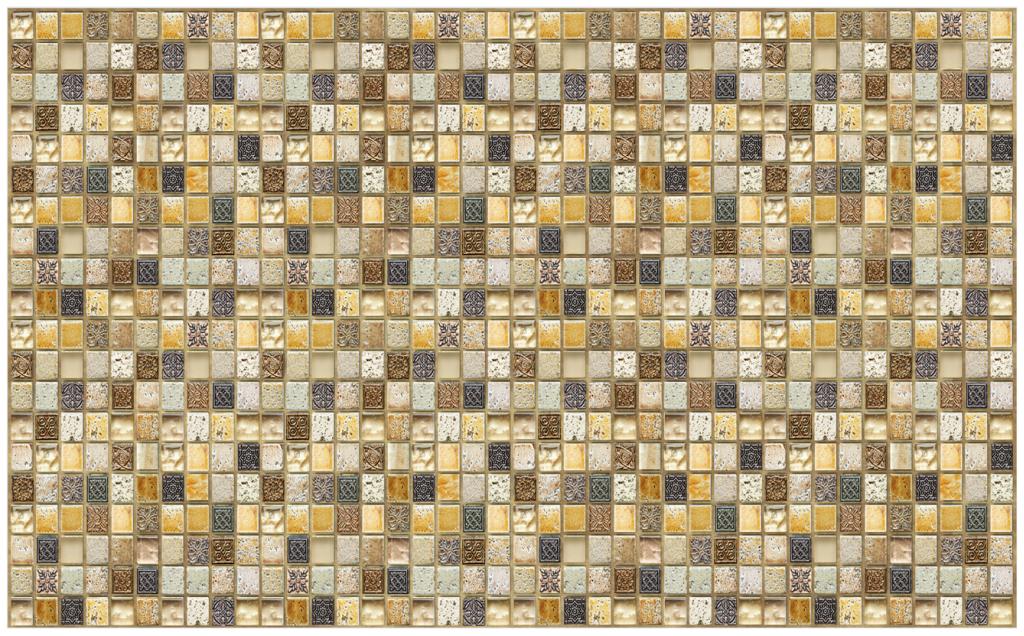 3D GRACE omyvatelný obkladový nástěnný panel PVC 480x955mm mozaika Casablanca