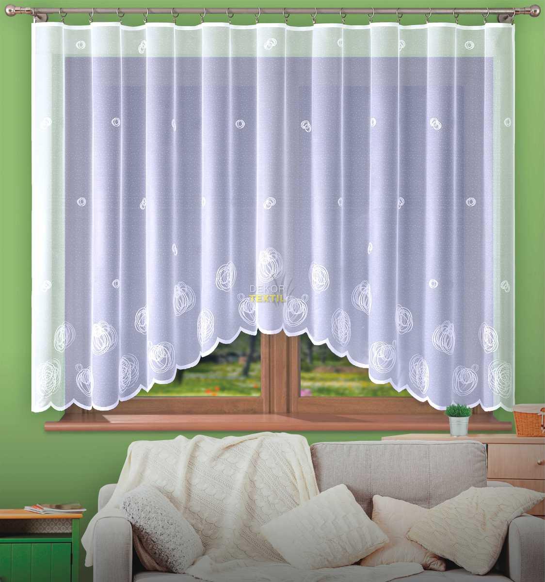 hotová záclona STANISLAVA 300x150 cm