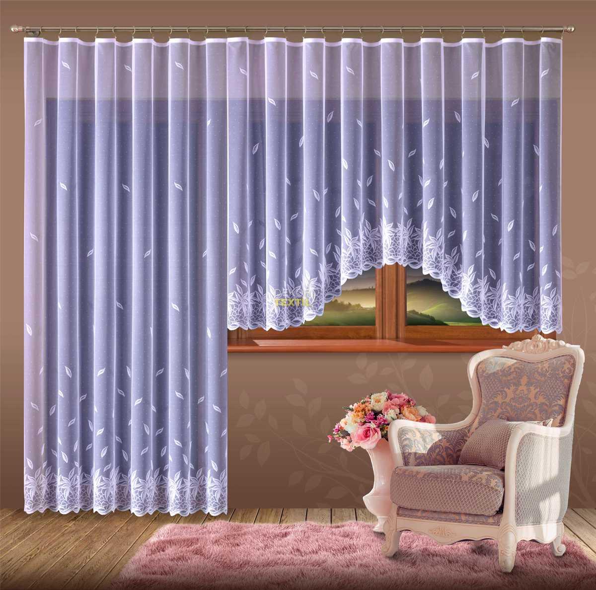 hotová záclona NORA 250x120 cm