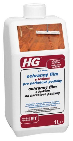 HG p.e. polish s leskem pro parkety a dřevěné podlahy 1l (HG 51)
